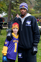 Parker with Anthony (AJ) James, UNI Basketball star!